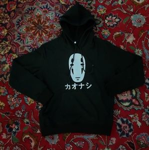 """""""Faceless"""" / """"No Face"""" Hoodie from Spirited Away"""